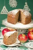 Applesauce Raisin Rum Cake For Christmas Table