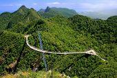 foto of langkawi  - Langkawi Sky Bridge Langkawi island Malaysia Southeast Asia - JPG