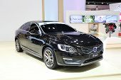 Nonthaburi - March 25: Volvo S60 Car On Display At The 35Th Bangkok International Motor Show On Marc