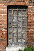 Old Wooden Door In Venice