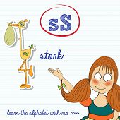 Alphabet Worksheet Of The Letter S
