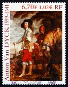Postage Stamp France 1999 Charles I, King Of England, Painting