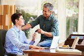 pic of 16 year old  - Father Giving Teenage Son Car Keys - JPG