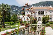 Villa Ephrussi De Rothschild At Cap Ferrat