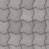 Paving Slabs. Seamless Tileable Texture.