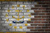 Dark Brick Wall - Rhode Island