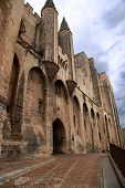 picture of avignon  - Palace of the Popes  - JPG