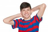 Happy Teenager Boy
