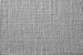 Textile Texture Of Rough Gray Fabric