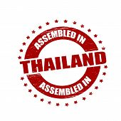 Assembled In Thailand
