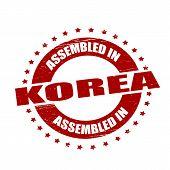 Assembled In Korea