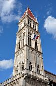 Cathedral Tower In Trogir, Croatia