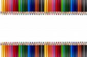 Colorful Pencil Frame 02