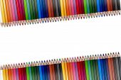 Colorful Pencil Frame 03