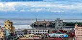 Havana Harbor, Cuba. Panorama