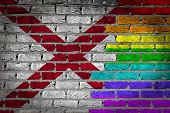 Dark Brick Wall - Lgbt Rights - Alabama