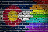 Dark Brick Wall - Lgbt Rights - Colorado