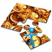 Gears Concept Puzzle