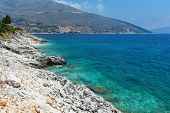 Summer Sea Coast Landscape  (greece)