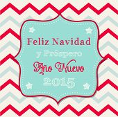 Christmas Greeting Card In Spanish