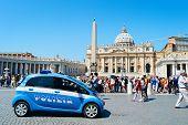 Vatican Police Car