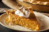 Homemade Pumpkin Pie For Thanksigiving