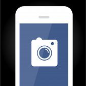 Smartphone vector icon