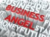 Business Angel - Wordcloud Concept.