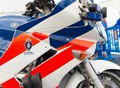 Military Police Motorbike