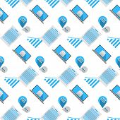 Vector background for internet business