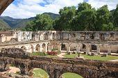 Santa Clara convent ruin, Antigua, Guatemala