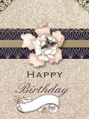 Happy birthday, abstract image, decoration