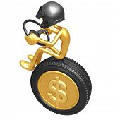 Dollar Coin Currency Racer