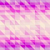 Violet geometric Retro pattern
