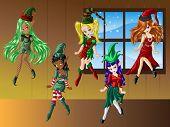 Cute Christmas Elfs