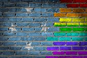 Dark Brick Wall - Lgbt Rights - Micronesia
