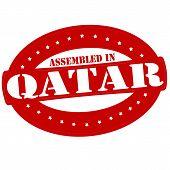 Assembled In Qatar