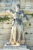 picture of avignon  - The statue of Joan of Arc - JPG