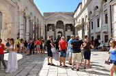 Diocletianus Palace In Split, Croatia