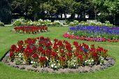 Jephson Gardens in Leamington Spa, Warwickshire