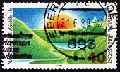 Postage Stamp Germany 1980 Nature Preserve