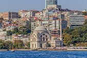 Dolmabahce Mosque - view from the Bosphorus