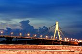 Bridge In Kiev City