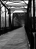 Iron bridge in Pittsburgh