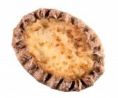 Karelian pie with rice filling