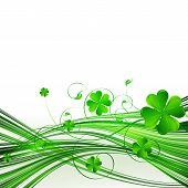 stock photo of saint patrick  - Vector Happy Saint Patrick - JPG