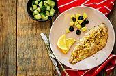 Mackerel With Garlic And Lemon Marinated. Moroccan Dish.