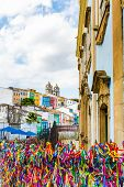 picture of carnival brazil  - The historic centre of Salvador - JPG