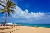 NHA TRANG,VIETNAM - NOV 14: Holiday Beach, Nov 14, 2014 in Nha Trang, Vietnam. Nha Trang is a famous resort