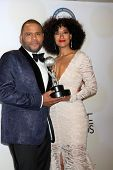 LOS ANGELES - FEB 6:  Anthony Anderson, Tracee Ellis Ross at the 46th NAACP Image Awards Press Room at a Pasadena Convention Center on February 6, 2015 in Pasadena, CA